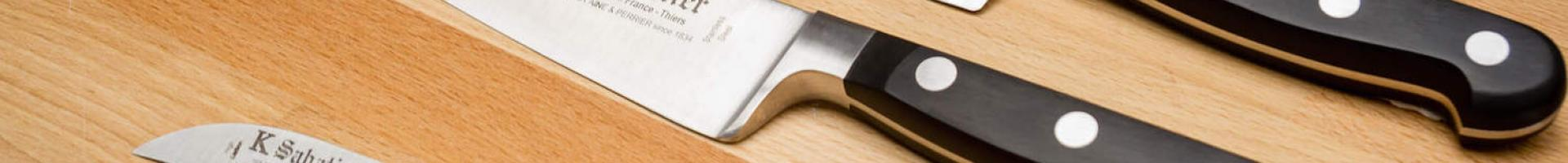 The essential knives for a chef